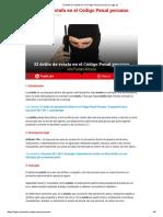El Delito de Estafa en El Código Penal Peruano _ Legis.pe