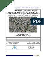 renovación y mejoramiento del sistema de agua potable y alcantarillado en la localidad de caravelí – caravelí – arequipa