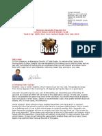 Casino Bulls Juniors Rugby Tour 2019 Full Itinerary