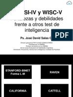 WPPSI-IV y WISC-V. Fortalezas y Debilidades. Ps. David Salas