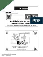 Análisis Modernos de Pruebas de Pozos.