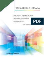 Unidad 1. Planeación Urbana Regional y Sustentable.