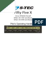 Fifty Five X for SR20-22 Avidyne