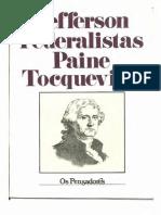 Os pensadores - Federalistas.pdf