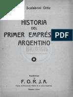 Cuaderno N°8 - La historia del primer empréstito argentino - Raúl Scalabrini Ortiz.pdf