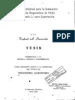 Estudio de Factibilidad Produccion y Comercializacion Del Aguacate y Sus Derivados