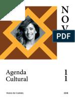 Agenda Cultural de Novembro 2018