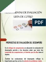 presentacion  eval
