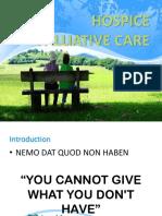 Hospice Palliative Care