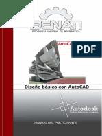 AutoCAD Diseño Básico Con AutoCAD SENATI LibrosVirtual.com