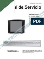 Panasonic TC - 21RX30LC Chasis GP41Z