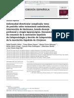 Enfermedad Diverticular Complicada AEC y CAEC 2017 CIRUGIA ESPAÑOLA