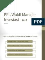 Materi PPL WMI - Regulasi