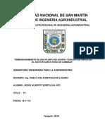 DIMENSIONAMIENTO DE UNA PLANTA SECADORA DE GRANOS DE ARROZ