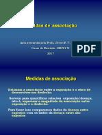 AULA 6 - Medidas de Associação em Epidemiologia