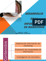 Desarrollo de La Información de Marketing