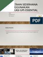 Pemetaan Sederhana Dg Gps Essential