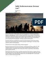 Ada Apa Di Balik Kedermawanan Jerman Kepada Imigran- CNN