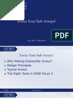 Focus Your Sub Arrays