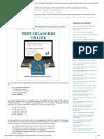 CELADORES ONLINE de INSTITUCIONES SANITARIAS_ Test 03. Estatuto Marco Del Personal Estatutario de Los Servicios de Salud - I