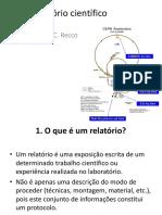 Elaboracao de Relat Rio Cient Fico