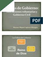Esfera Gobierno Civil y Economía