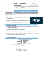 153460069 Ficha Tecnica Hipoclorito de Sodio Docx