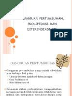 Patofis Gangguan Pertumbuhan Proliferasi