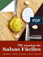 70 Recetas de Salsas Fáciles - Eva Cornejo Coba