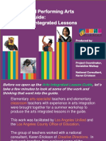 Arts Integrated Lessons Guide1