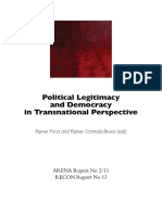 Political Legitimacy and Democracy in Transnational Perspective