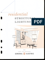 GE Residential Structural Lighting Brochure 1964