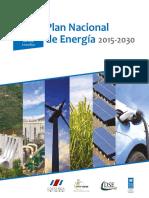 Vii Plan Nacional Energia 2015 2030