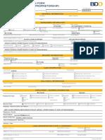Home Loan Form