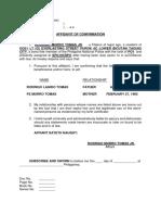 Affidavit of Confirmation.docx