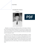 The Founding Father of Indonesia