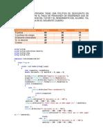 Ejercicio de Algoritmo 2