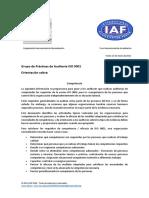 IAF-COMO AUDITAR LAS COMPETENCIAS DEL PERSONAL