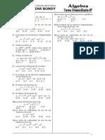 Algebra p 07 Ex 2007 III