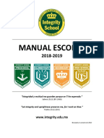 ISAC - Manual Escolar Integrado 2018-2019