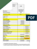 Solución Evaluación Económico Financiero 1