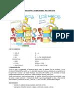 Plan de Trabajo Por Los Derechos Del Niño y Niña 2018