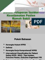 8. Sistem Pelaporan Insiden KP - dr. Luwiharsih MSc.pptx