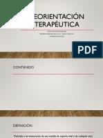 Reorientación terapéutica