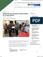 Bantah Korupsi Indonesia Sudah Stadium IV, Ini Kata Jokowi