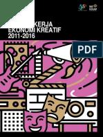 180747 Tenaga Kerja Ekonomi Kreatif 2011 2016