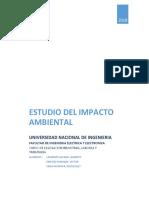 El Estudio de Impacto Ambiental
