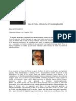 Basarab Nicolescu, Lima de Freitas si Marele Joc al Transdisciplinarităţii