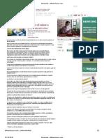 Entrevista El Financiero - Edición 10.10