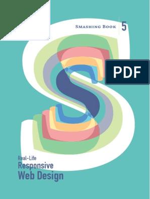 Smashing-Book-5 pdf | Responsive Web Design | Design